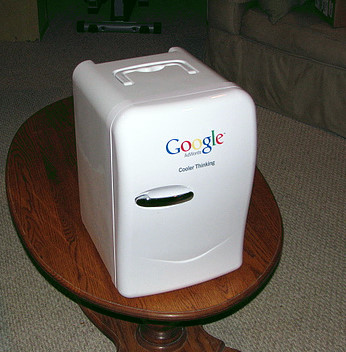 Google Fridge, keeps you beer cold