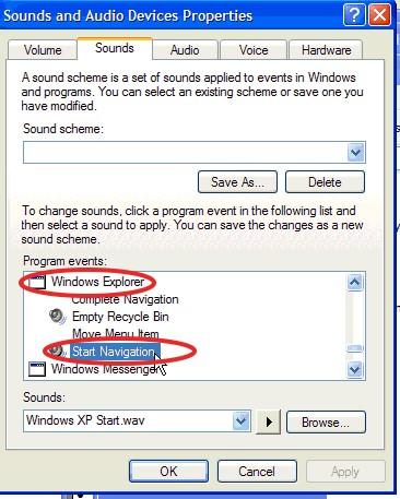windows xp sounds