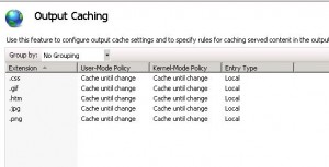 IIS 7 5 and PHP Sessions with Output Cache